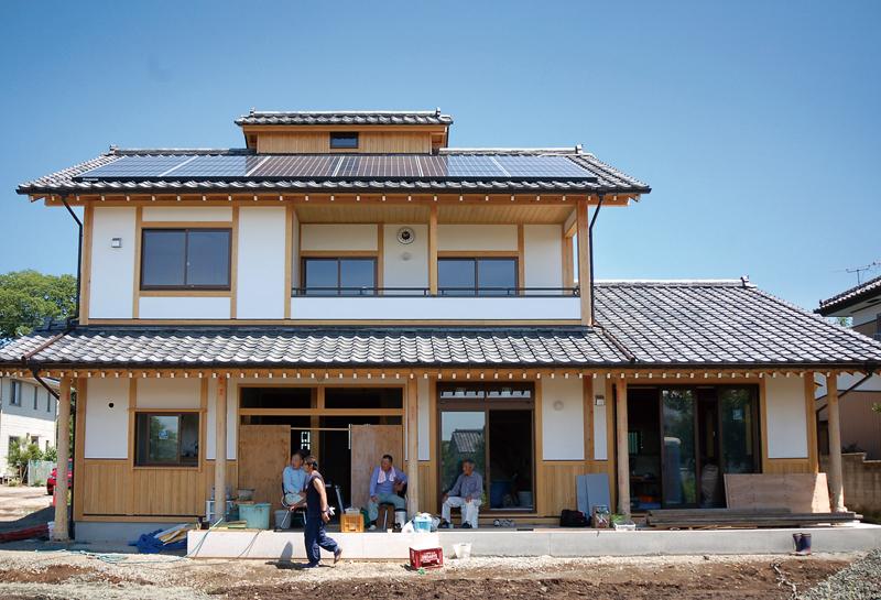 越屋根のある家 完成見学会