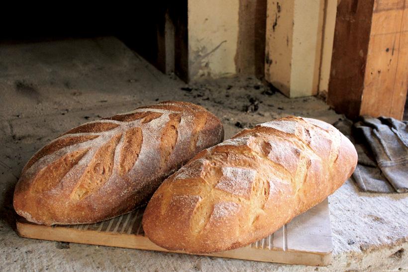 *スペルト小麦のカンパーニュ