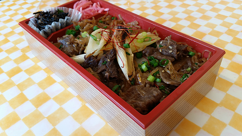 *増田和牛を使用した牛飯