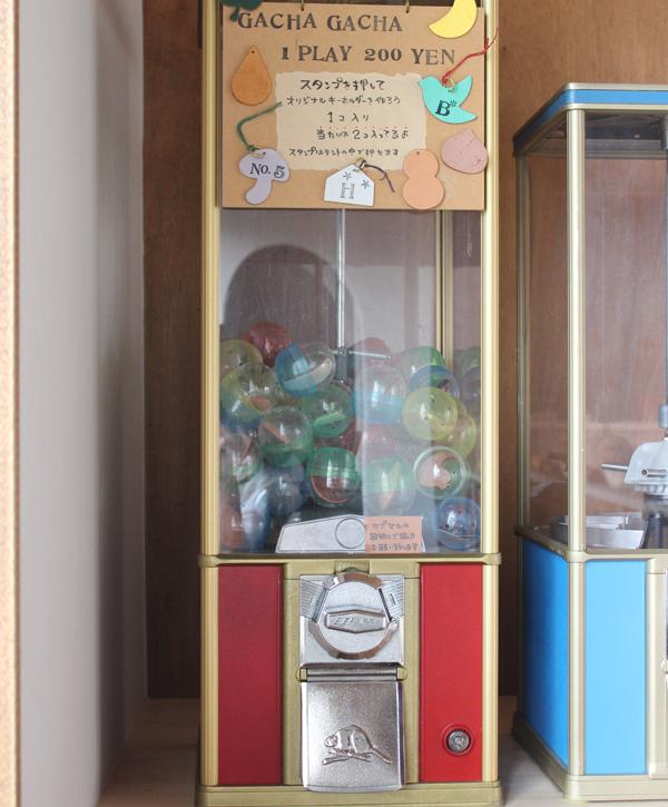 *オリジナルキーホルダーの作れるGACHA GACHA 1PLAY200円