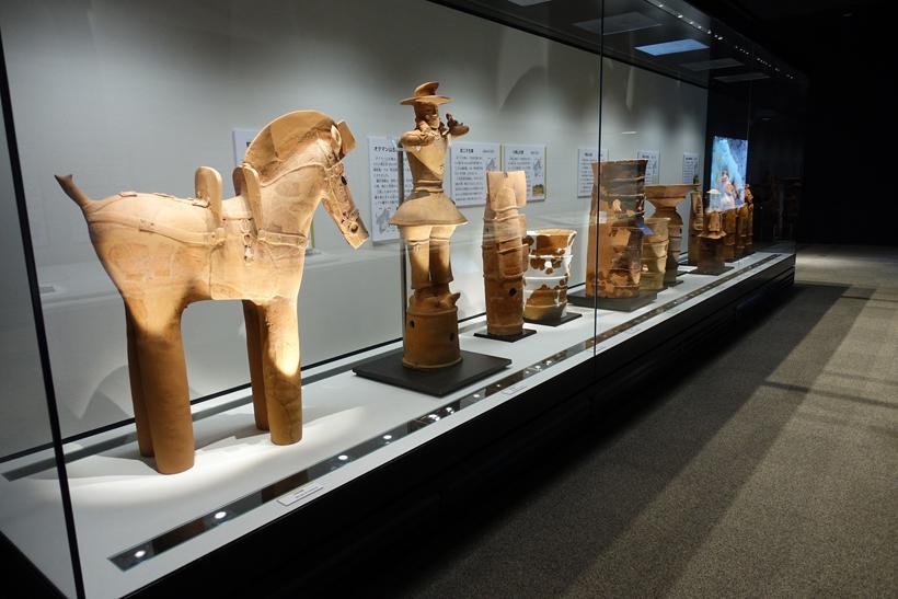 *東国古墳文化展示室