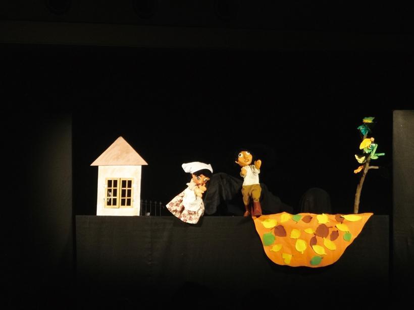 人形劇上映