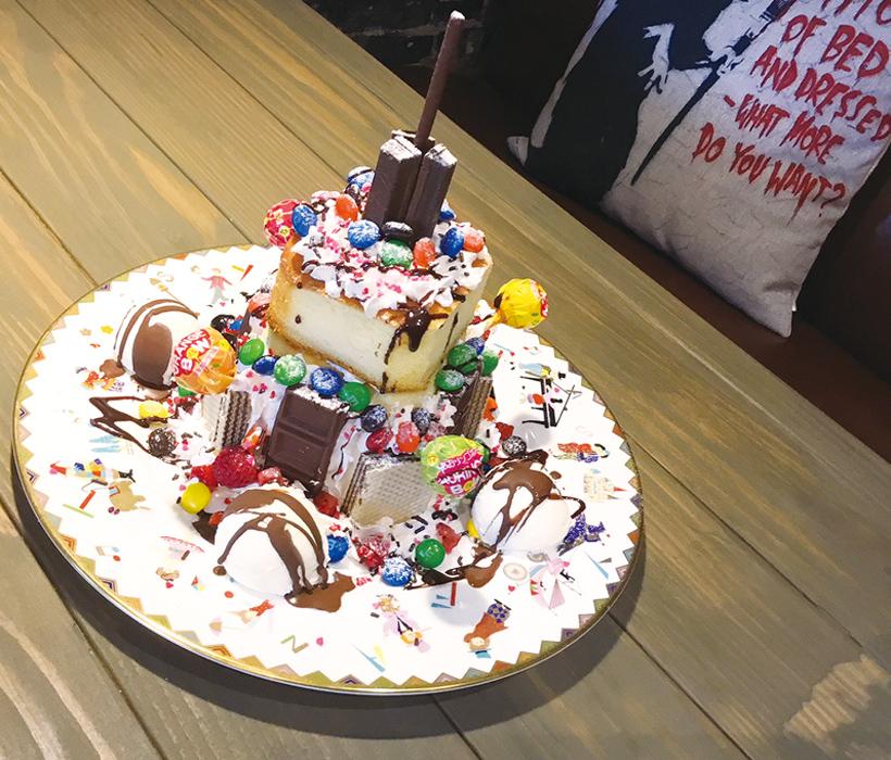 クレイジースフレパンケーキ