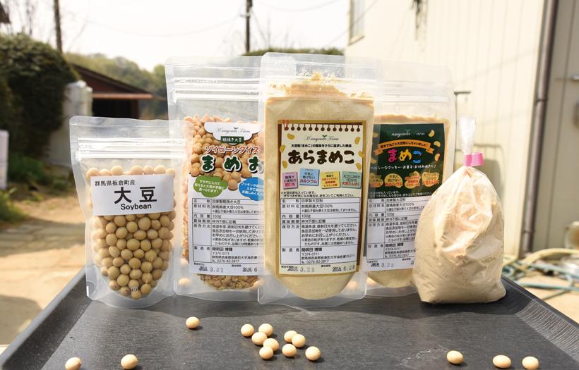 *東京でも販売されている大豆の加工品