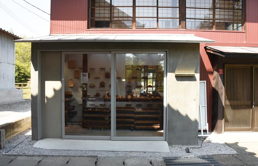 *古民家を改装した店舗