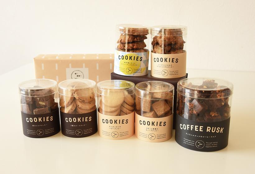 *クッキー各種1個¥550〜、コーヒーラスク¥750