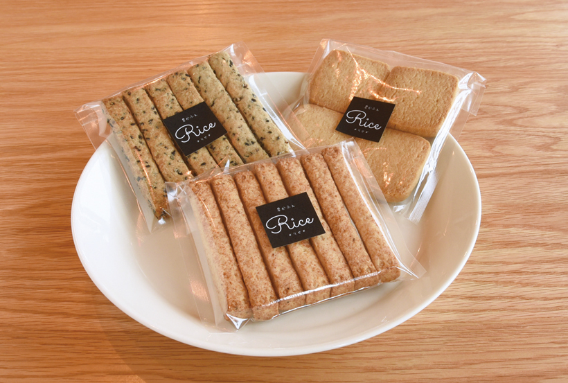 *白砂糖・化学調味料・動物性食品等の使用を極力 使わずに作っている焼き菓子