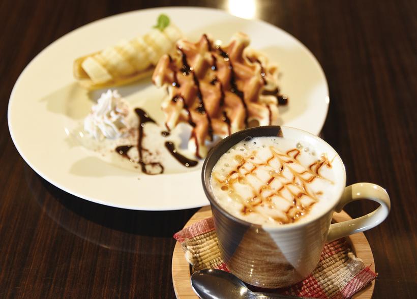 あすなろカフェ冬コーヒー