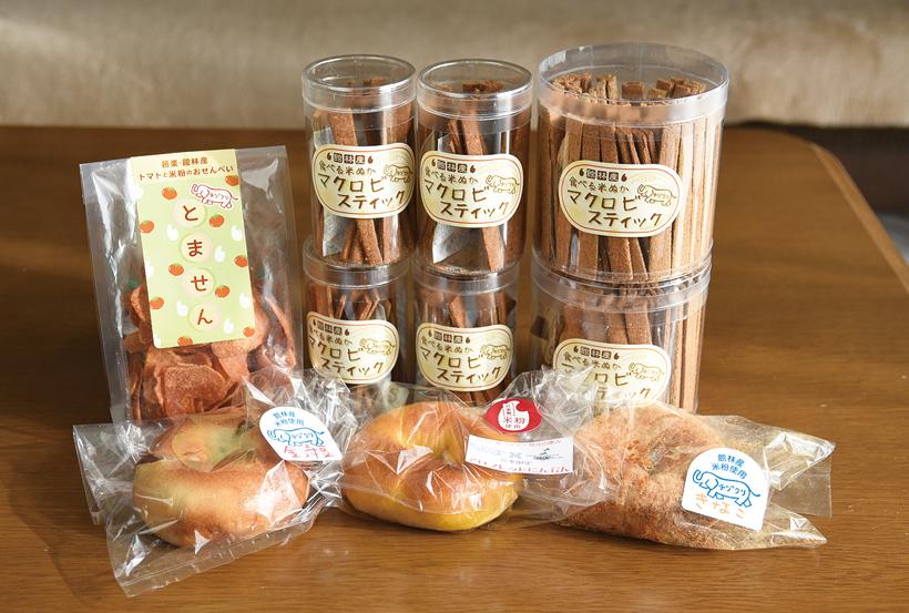 *食べる米ぬか「マクロビスティック」大100本入り¥1,500(税別)小¥380(税別)