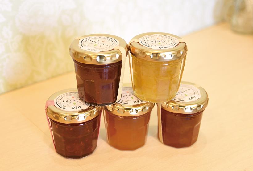 *手作りジャム イチジク、ゆず、冬のドライフルーツ、プラム、洋なし&カラメル等 ¥380〜
