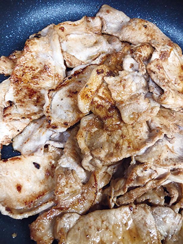 キャベツ豚生姜2