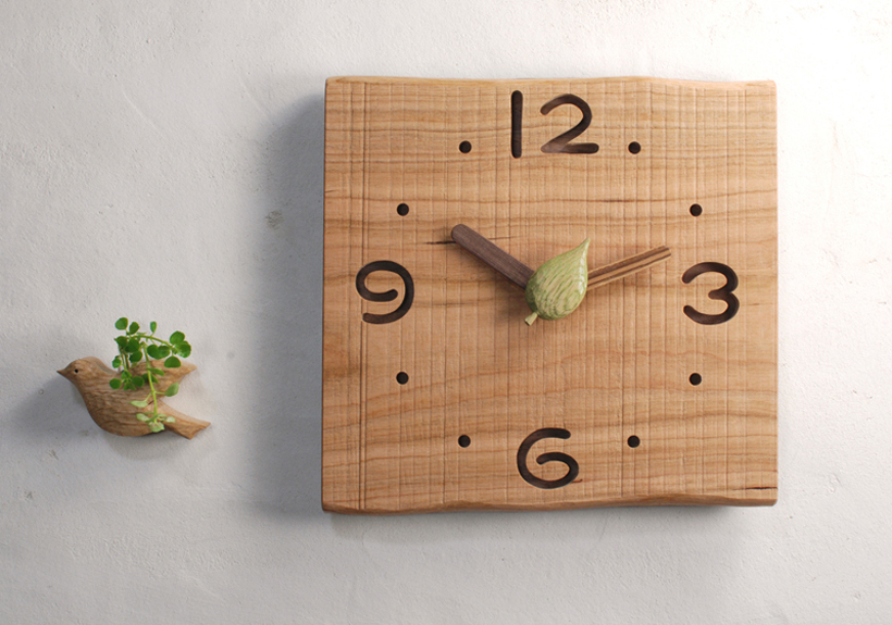 時計・ことりの一輪挿し 2(800)