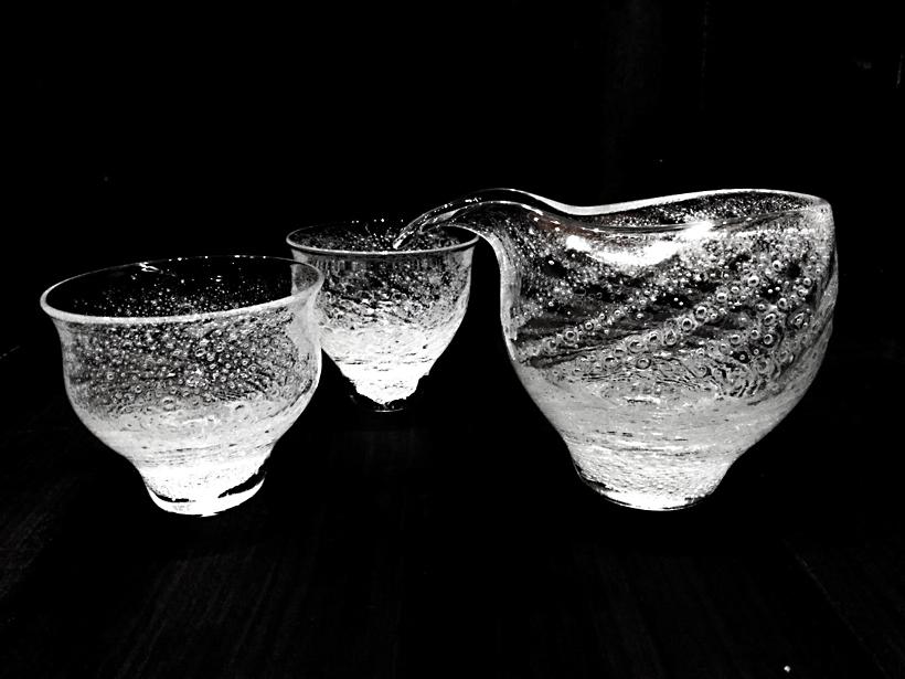 白糸泡酒器