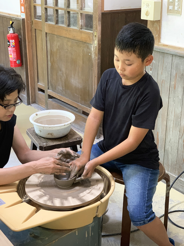 土と火の里陶芸1