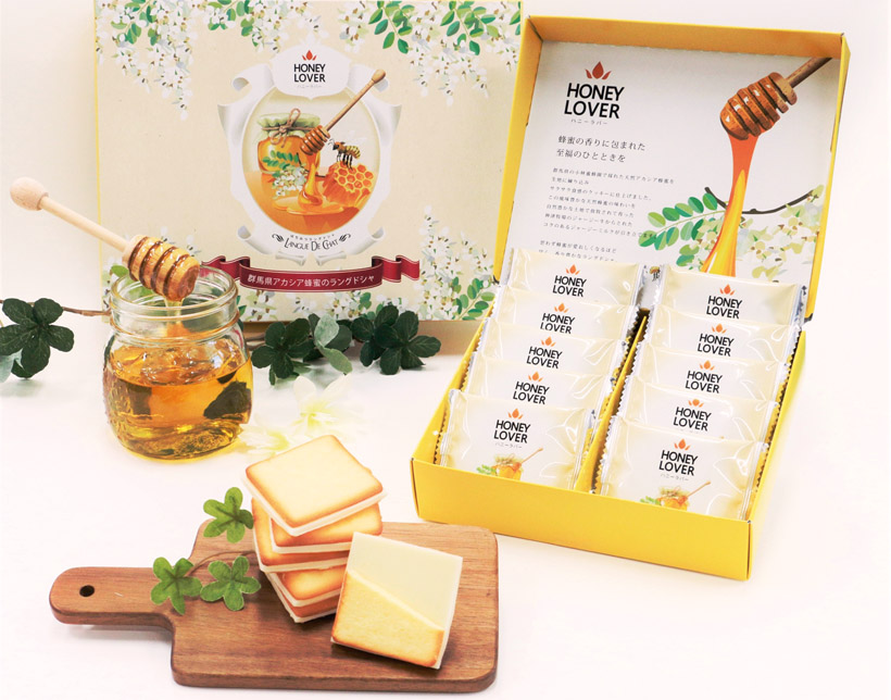 蜂蜜ラングドシャ