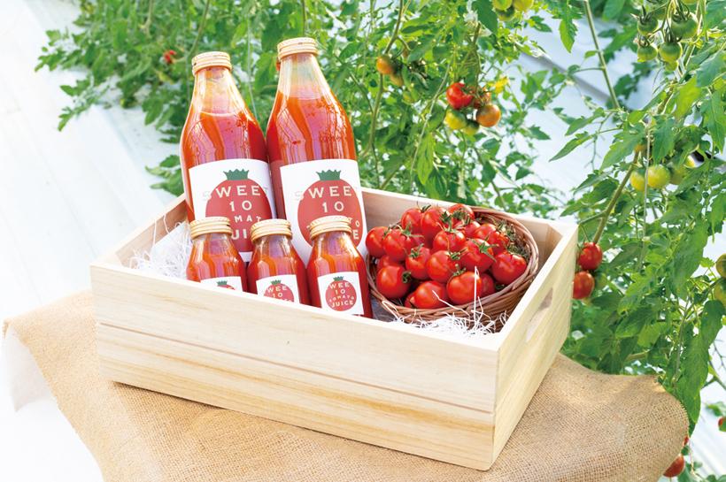 *SWEET10を使用したトマトジュース