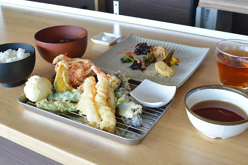天ぷら剣崎定食B68