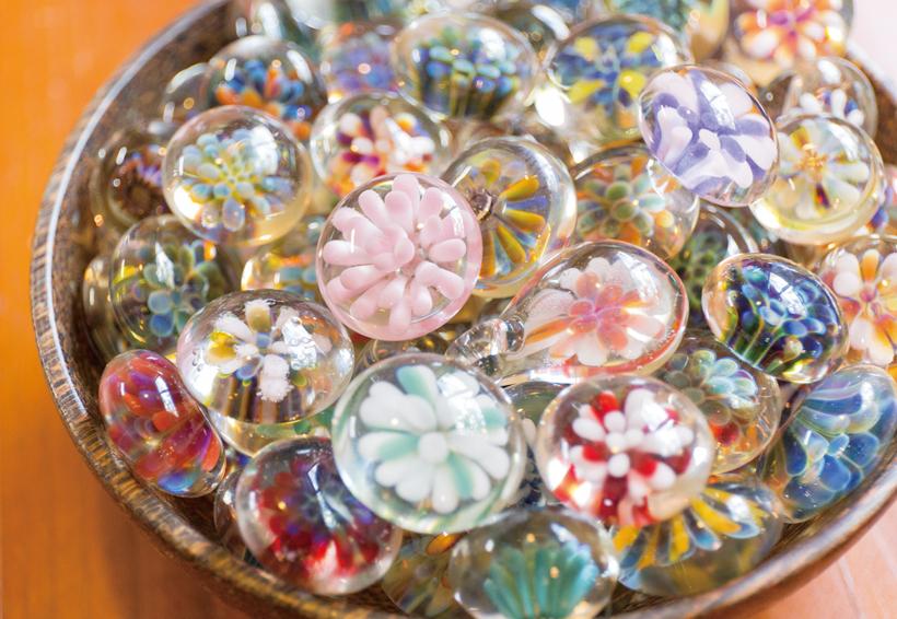 *ガラス細工作り体験 所要時間:約1時間 料金:¥4,000 要予約(2名以上)