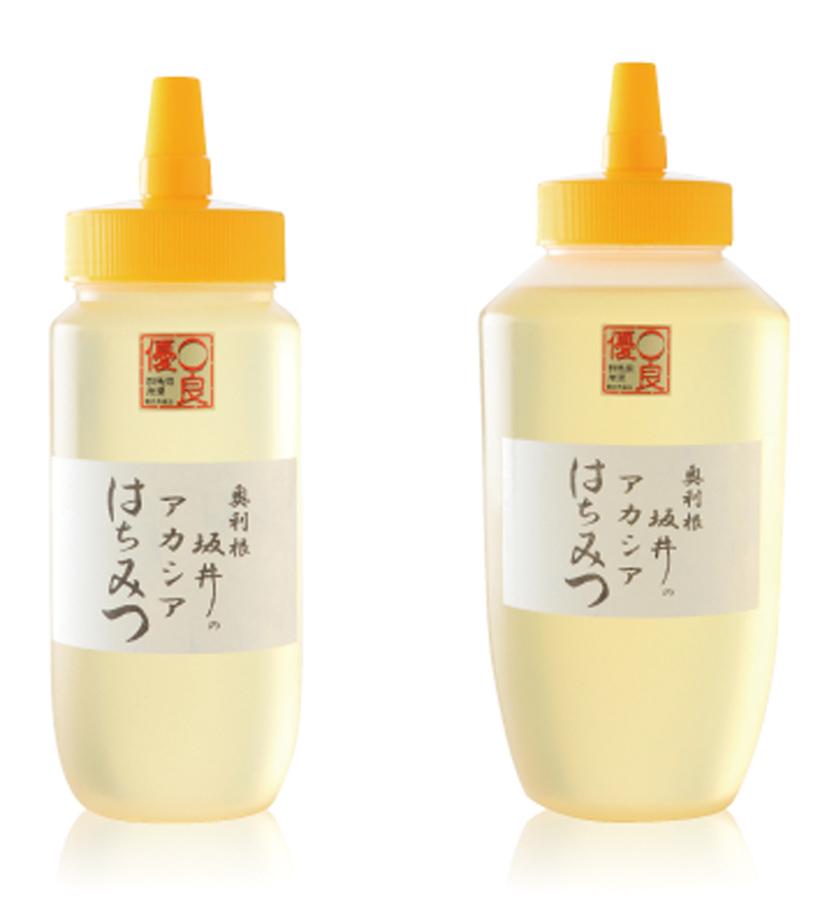 *「国産 特撰アカシア蜂蜜」 500g ¥1,998(税込) 食べ方…ヨーグルトにかける、照り焼き、はちみつ漬け 栄養…ビタミンB1、ビタミンB2、ビタミンB6、葉酸、カリウム、カルシウム 等